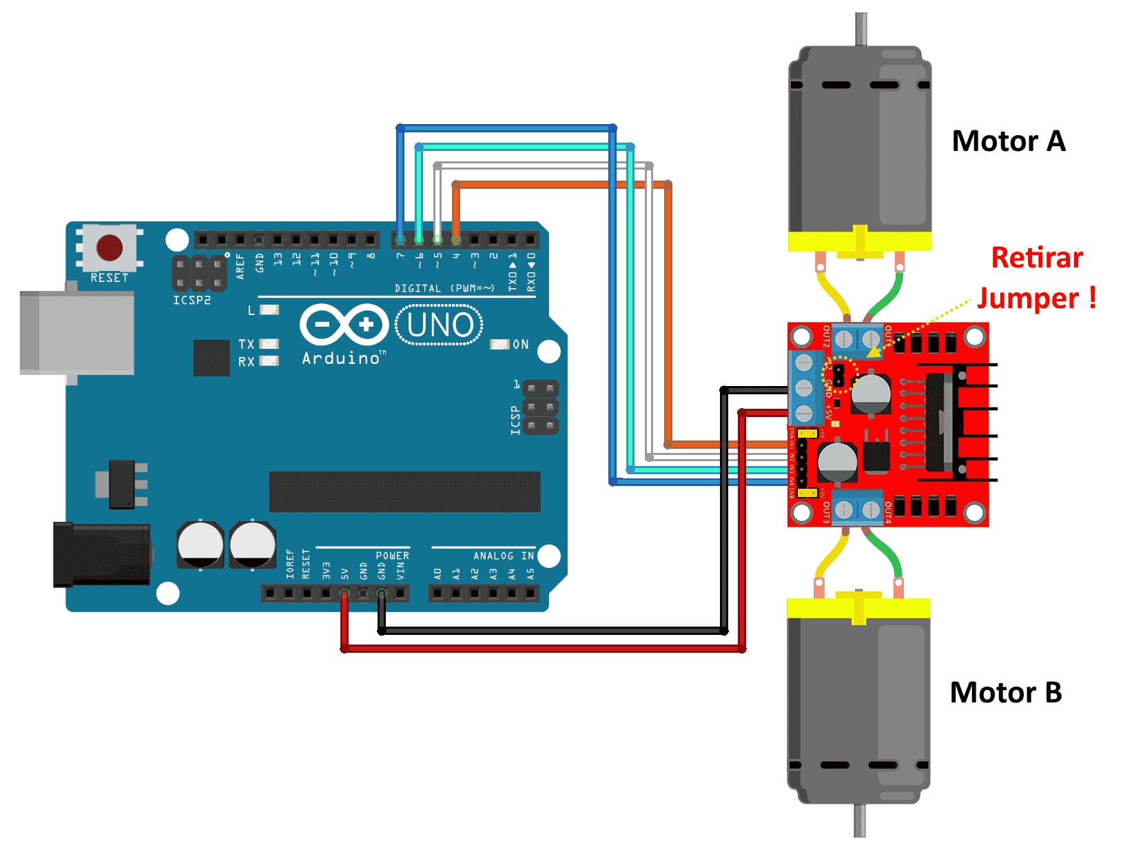 Dc Motor Pid Control Arduino Code: Arduino motor speed