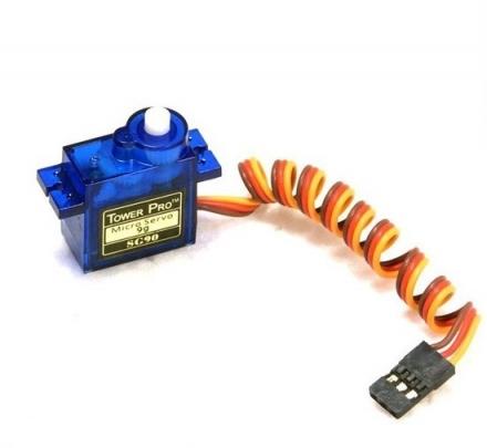 Micro Servo Motor 9g SG90 com Arduino Uno