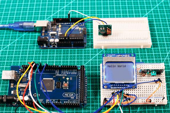 Circuito Módulo RF Arduino