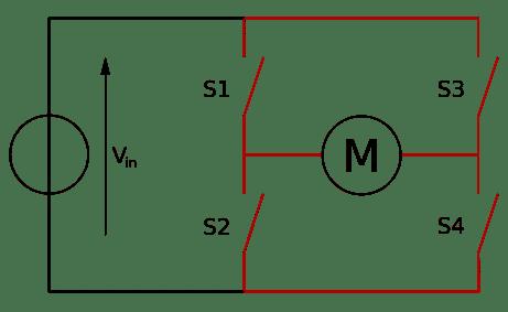 Ponte H - Estrutura