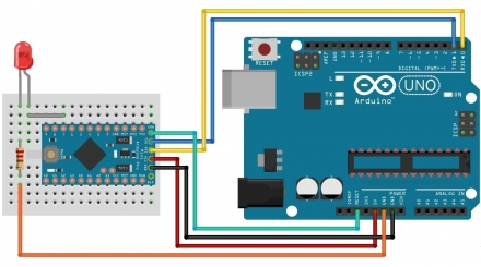 Burn Bootloader into Other Chips Using Arduino Duemilanove