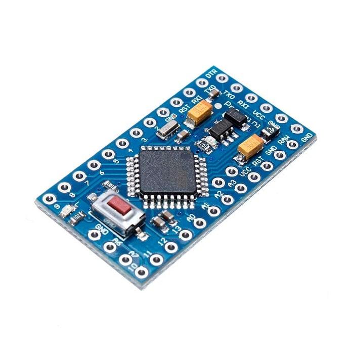 Programando um arduino pro mini com uno