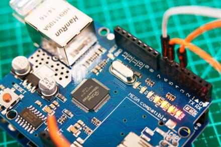 Como comunicar com o Arduino Ethernet Shield W5100