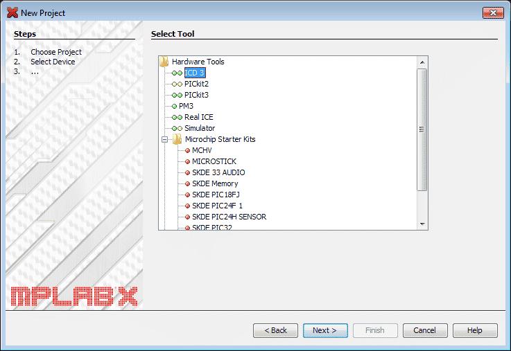 MPLAB - Select Tool