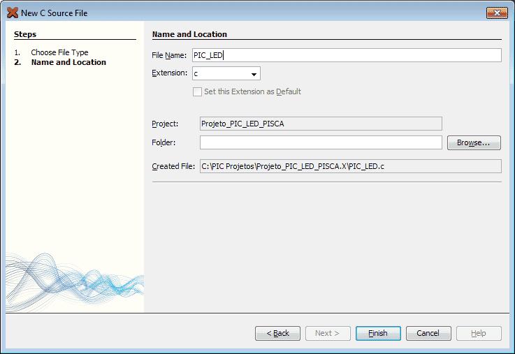 MPLab - New C source File