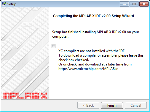 MPLab Install - Instalacao finalizada