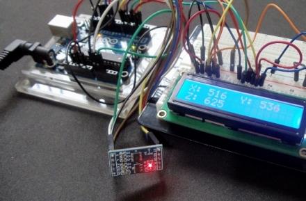 Conectando Acelerômetro 3 Eixos MMA7361 no Arduino