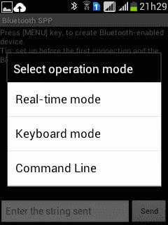 Bluetooth SPP - Conectado