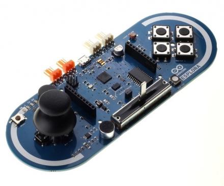 Conhecendo o Arduino Esplora