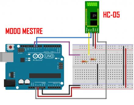 Como usar o Arduino Bluetooth HC-05 em modo mestre