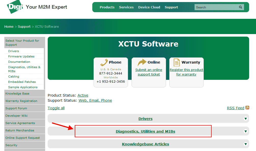 Download XCTU - Xbee