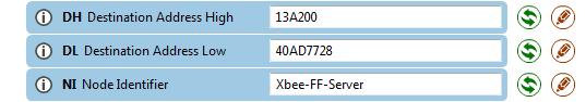XCTU - Configuração endereço módulo router