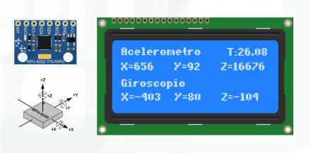 Tutorial: Acelerômetro MPU6050 com Arduino
