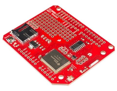 Wifi Shield CC3000 Sparkfun