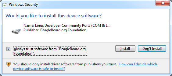 Linux Developer Community Ports