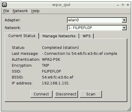 Wifi Config Conectado