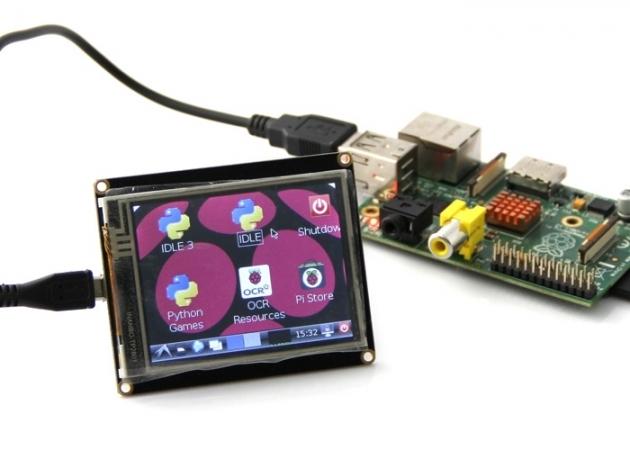 Ligando Display Touchscreen no Raspberry Pi