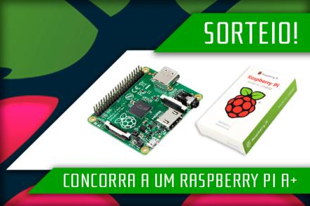 Concorra a um Raspberry Pi A+