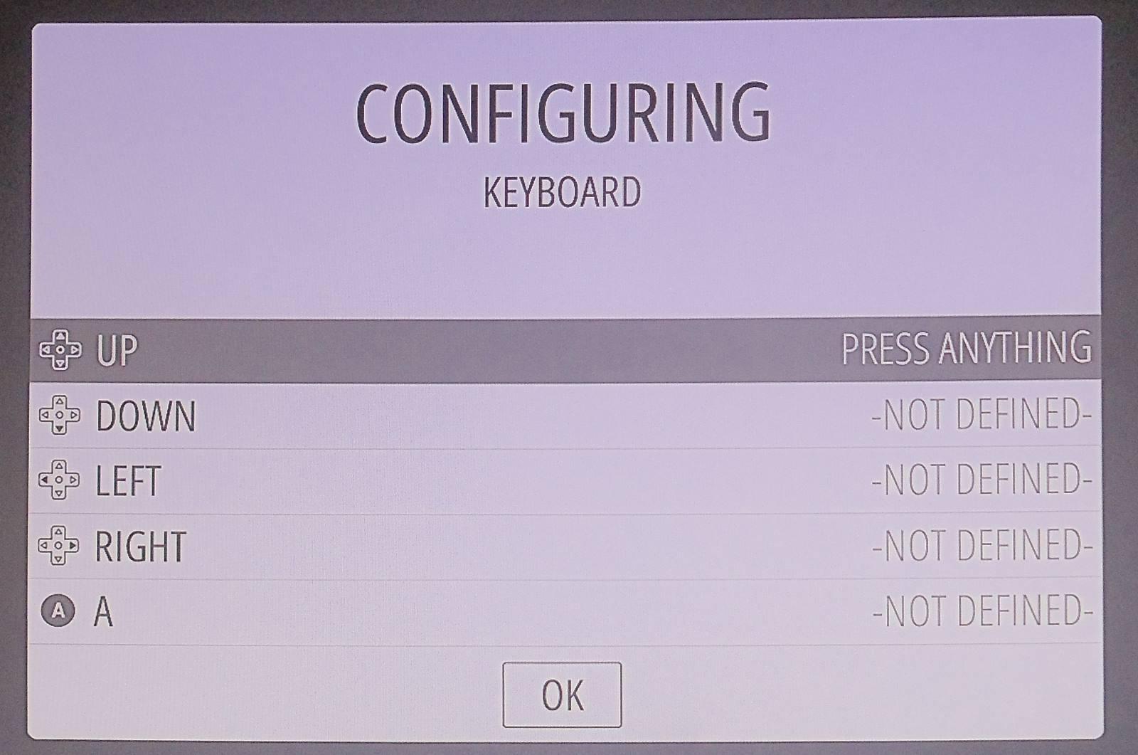 RetroPie - Configuração teclado