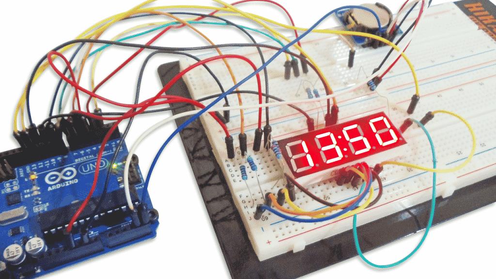 Tutorial Relógio com Arduino