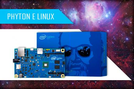 Trabalhando com Python e Linux no Intel Galileo Gen 2
