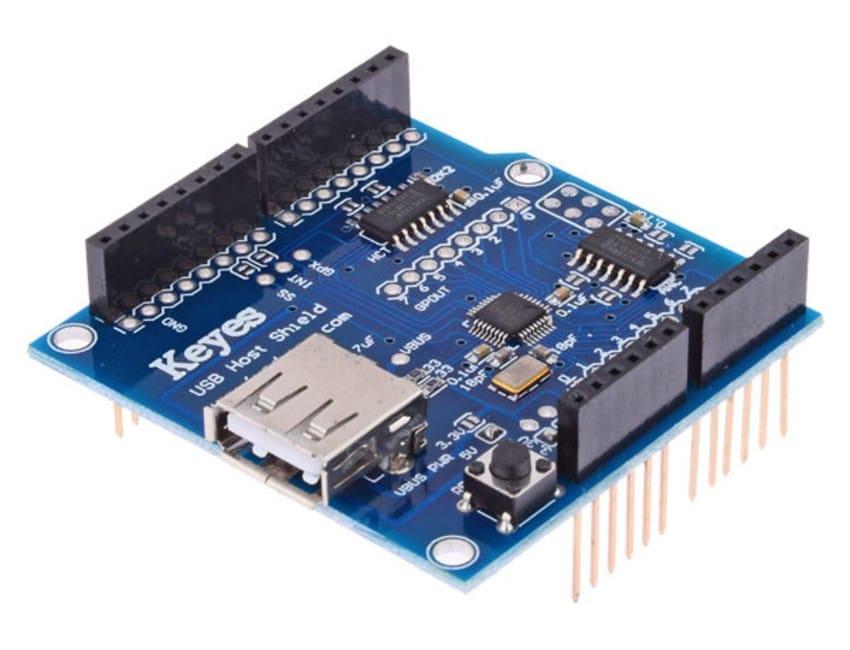 Conecte dispositivos usb ao arduino usando o host