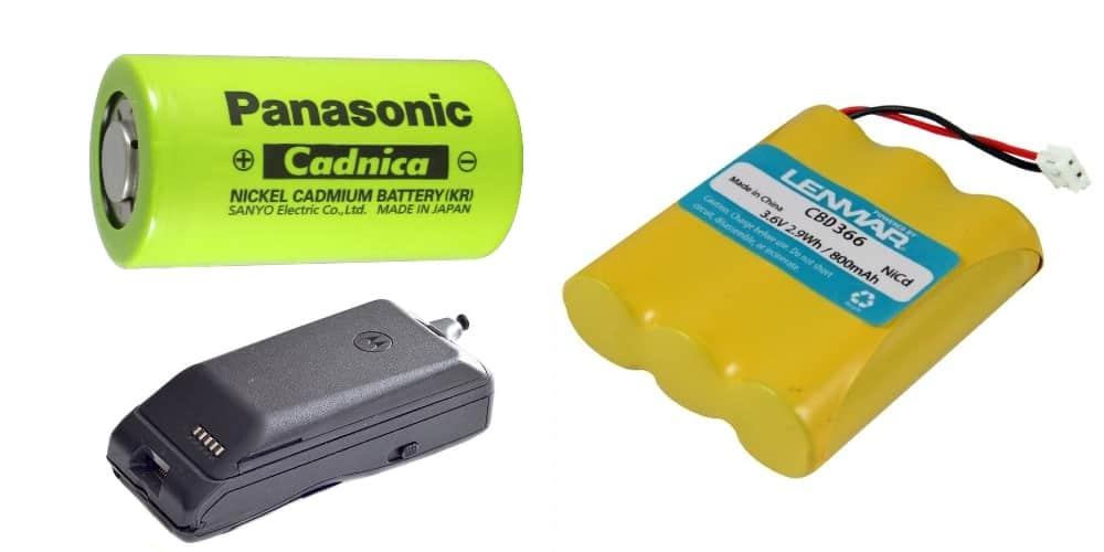 Baterias Níquel Cadmio NiCd