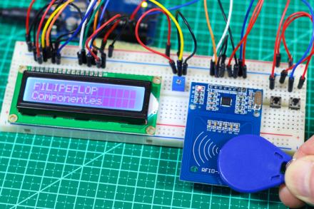 Como gravar dados no cartão RFID