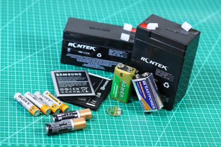Pilhas e Baterias: Conheça os principais tipos