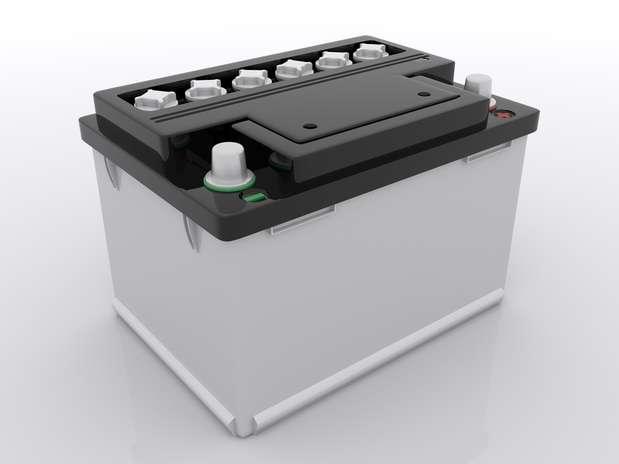 Bateria comum chumbo-ácido