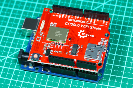 Conecte o seu Arduino na rede wireless com o Wifi Shield CC3000 Keyes