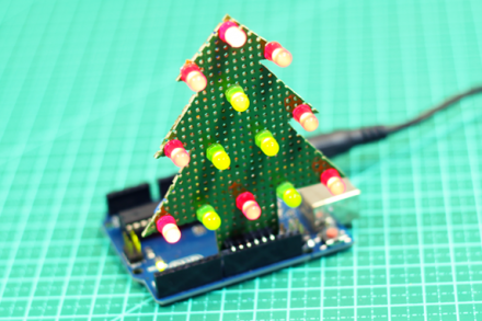 Monte sua Árvore de Natal com Arduino