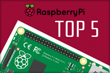 Top 5 Projetos com Raspberry Pi