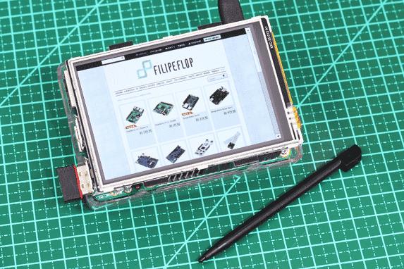 "Raspberry display TFT 3.5"""