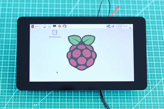 "Display touchscreen 7"" Raspberry Pi"