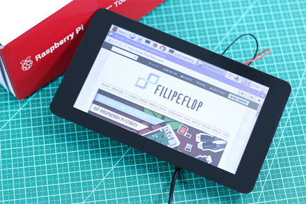 Como conectar o display touchscreen 7″ Raspberry Pi