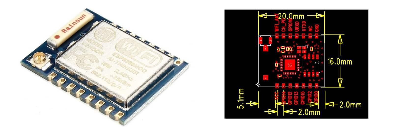 ESP8266 ESP07