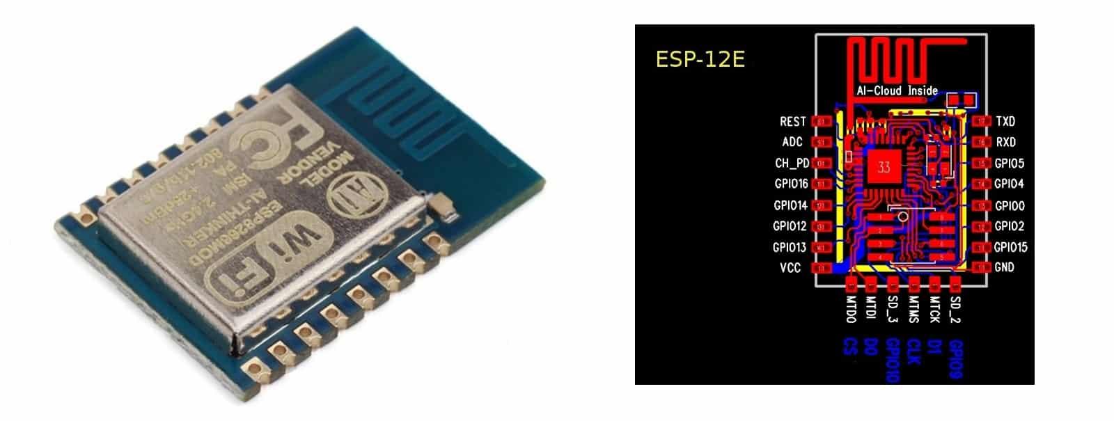 ESP8266 ESP12E