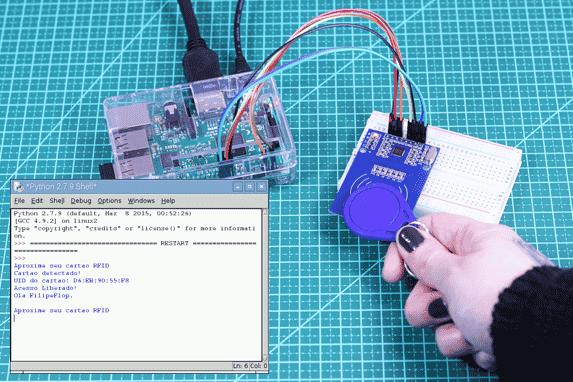 Controle de Acesso com RFID com Raspberry Pi