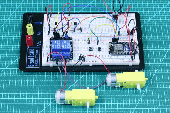 Controle de motor DC com ESP8266 NodeMCU