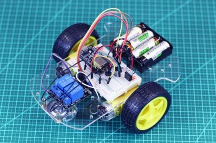 Robô IoT com ESP8266 NodeMCU