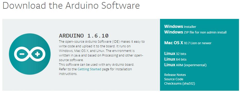 Site Arduino