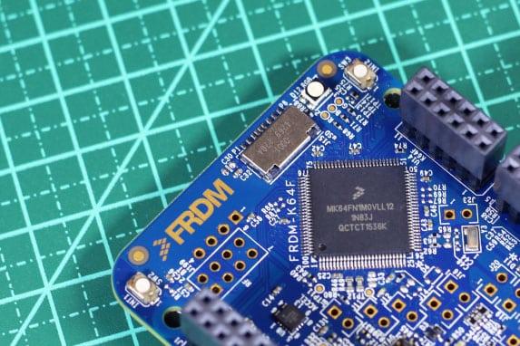 Detalhe microcontrolador