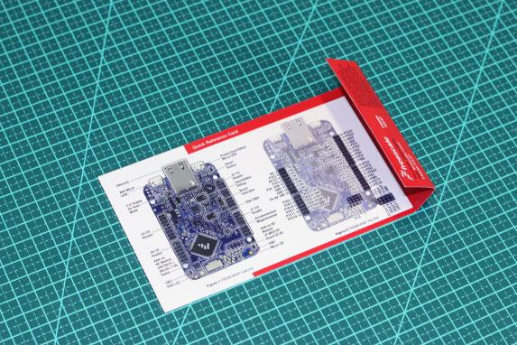 Detalhe cartão de referência