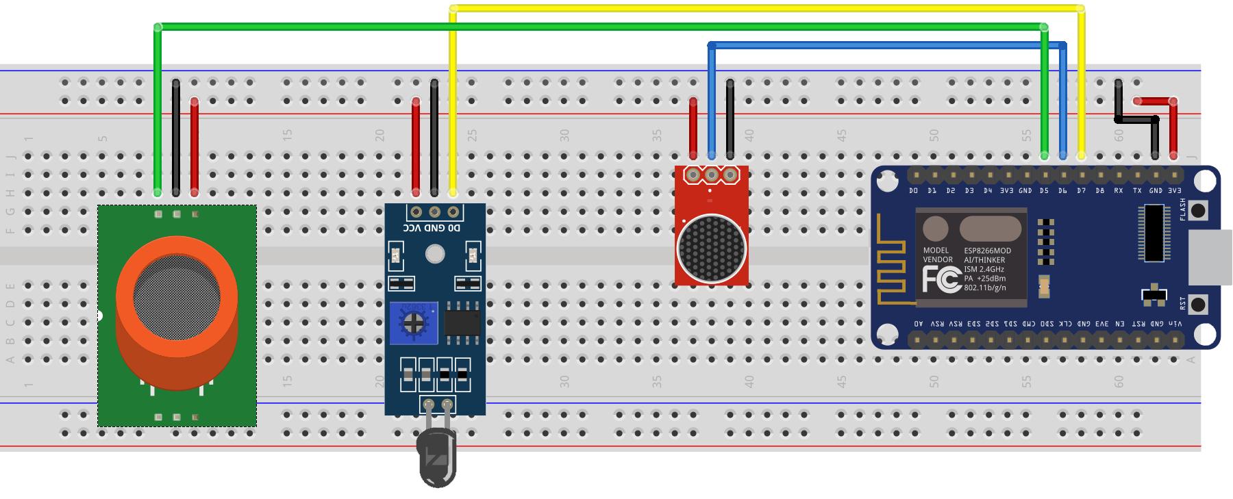 Circuito Sensor de Incêndio