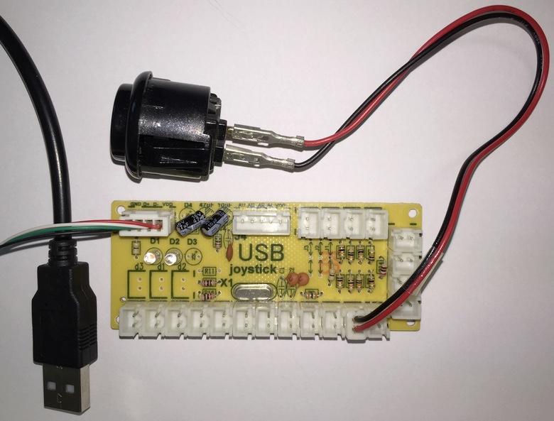 Placa encoder USB