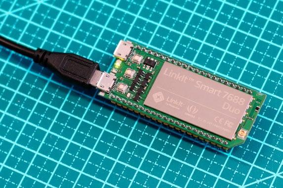 Linkit Smart conexão USB
