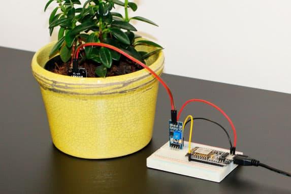 Planta IoT com NodeMCU