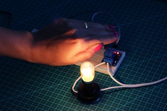 Teste sensor de luz LDR