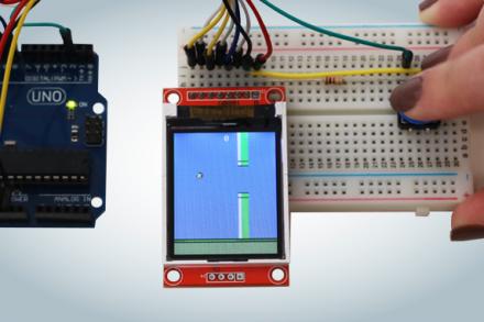 Jogando Flappy Bird com Arduino